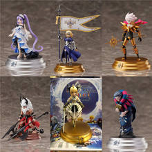 лучшая цена Anime FGO Fate Grand Order Action Figure Model Toy Saber Jeanne D'Arc Ruler PVC Action Figure Collection Model Kids Toys Dolls