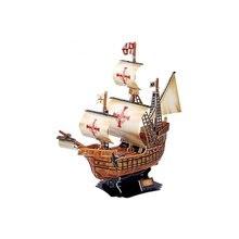 3D пазл CUBICFUN Корабль Санта Мария