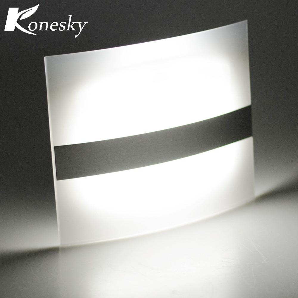 Pir Motion Sensor Led Wall Light Wall Lamp 4 Aa Battery