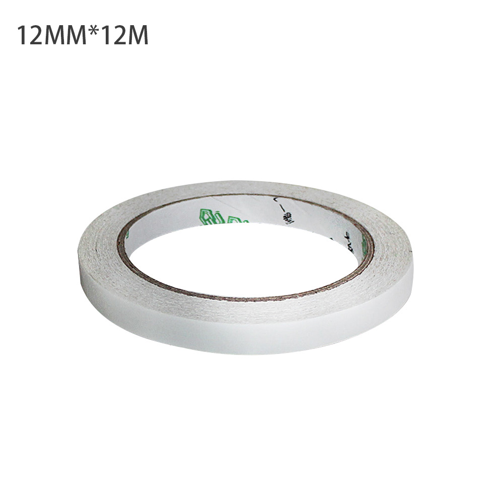 5/12/24/48mm Sticky Foam Sticky Tape DIY Paper Masking Tape Double Sided Strong Adhesive Craft Adhesive Tape Stationery Clear