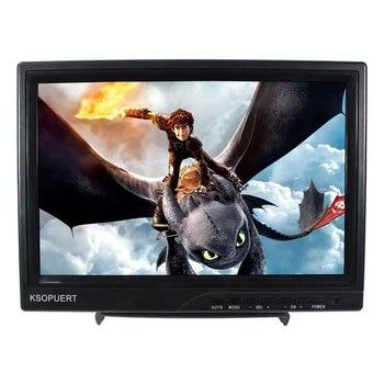 Plastic Shell  10.1inch 1366x768 IPS LCD Monitor HDMI DVI VGA video input 12V 1A adapter power supply