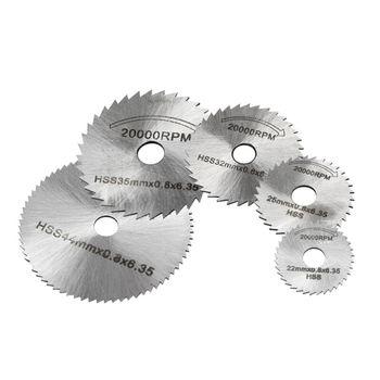 6pcs HSS Circular Cutting Saw Blade Cutter Discs 6mm Shank Mandrel High Quality Electric grinder saw Blades For Rotary Tool цена 2017