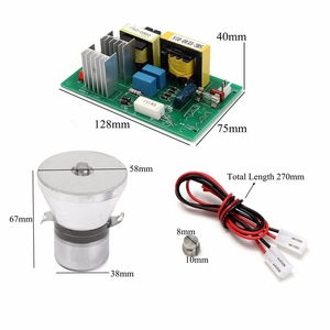 Image 3 - 100w 28khz Ultrasonic Cleaning Transducer Cleaner High Performance +Power Driver Board 220vac Ultrasonic Cleaner Parts
