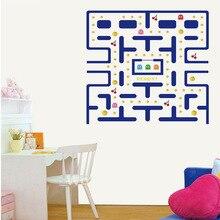 Cartoon Pac-Man Game Wall Sticker Living Room ChildrenS KidS Decoration
