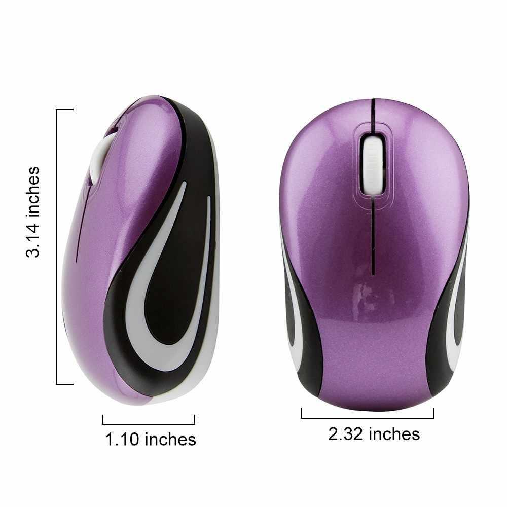 0fa0b247e5e ... CHUYI Wireless Mouse Mini Optical Computer Cute 3D Mause For Kids 1600  DPI 2.4G USB ...