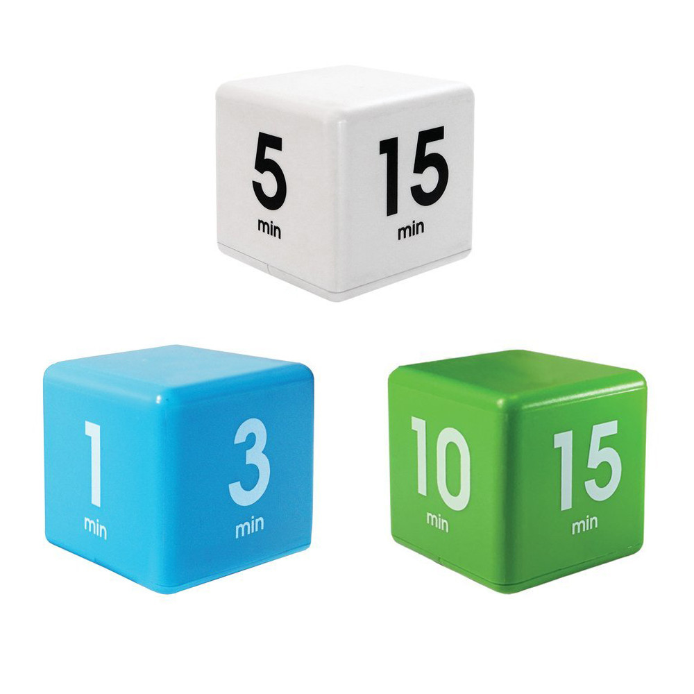 US $12 0  The Miracle Time Cube Timer 5/15/30/60 Minutes For Management  Kitchen Kids Timer Workout Time-in Kitchen Timers from Home & Garden on
