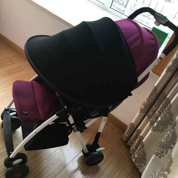 Детский тент дождь УФ-черный и синий солнцезащитный козырек расширитель для одного коляски детская тележка тент подзор
