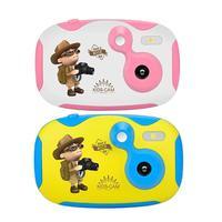 Amkov Children Cartoon Camera 1.44 inch HD Color Screen 0.3MP Camcorder CDDF Product 1/9'' CMOS 0.3MP; GalaxyCore GC0307