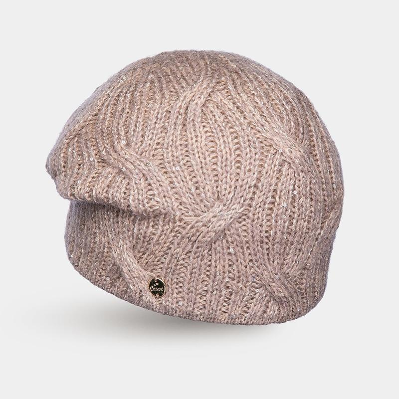 Hat Woolen hat Canoe 3441575 CAPRI unique long band decorated adjustable sun hat