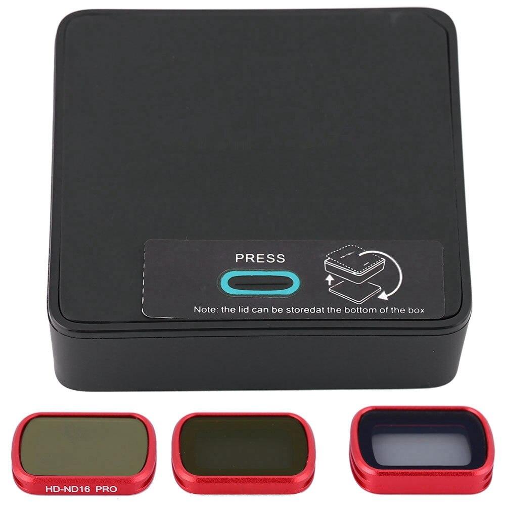 3 pièces ND/CPL filtre d'objectif Kit Pour caméra drone Set pour DJI OSMO POCHE caméra à support