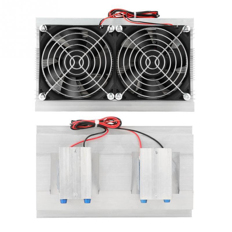 DV 12 в 120 Вт полупроводниковый, Термоэлектрический охладитель Пельтье Холодильное устройство водяного охлаждения электронный Пельтье