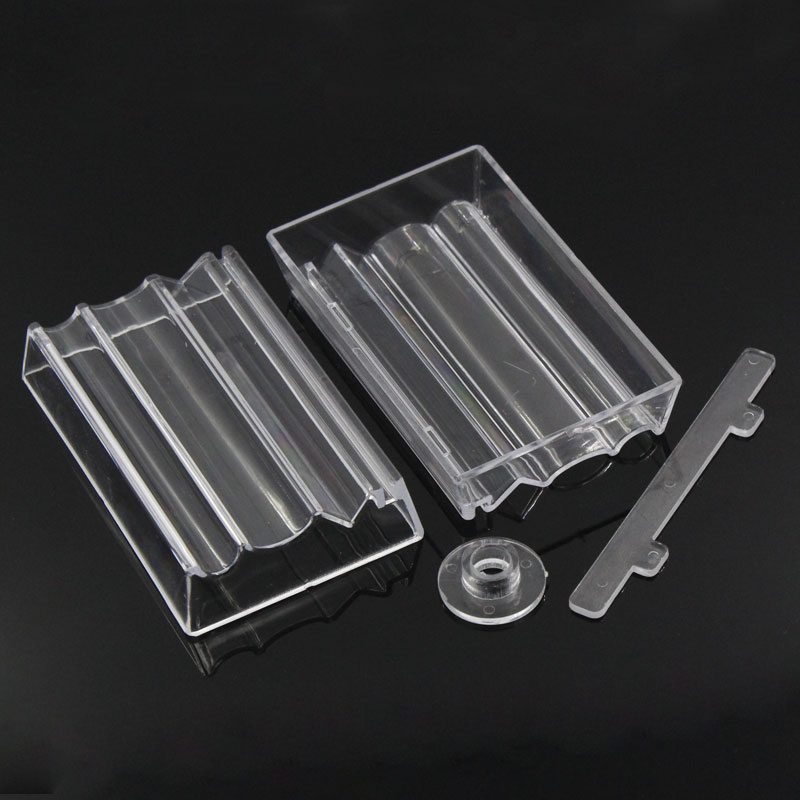 Bead Roller For Jewelry Making Perfect Polymer Clay Beads Rectangle Transparent 10.2x6.4x1.9cm,2 Sets (B23360) Yiwu