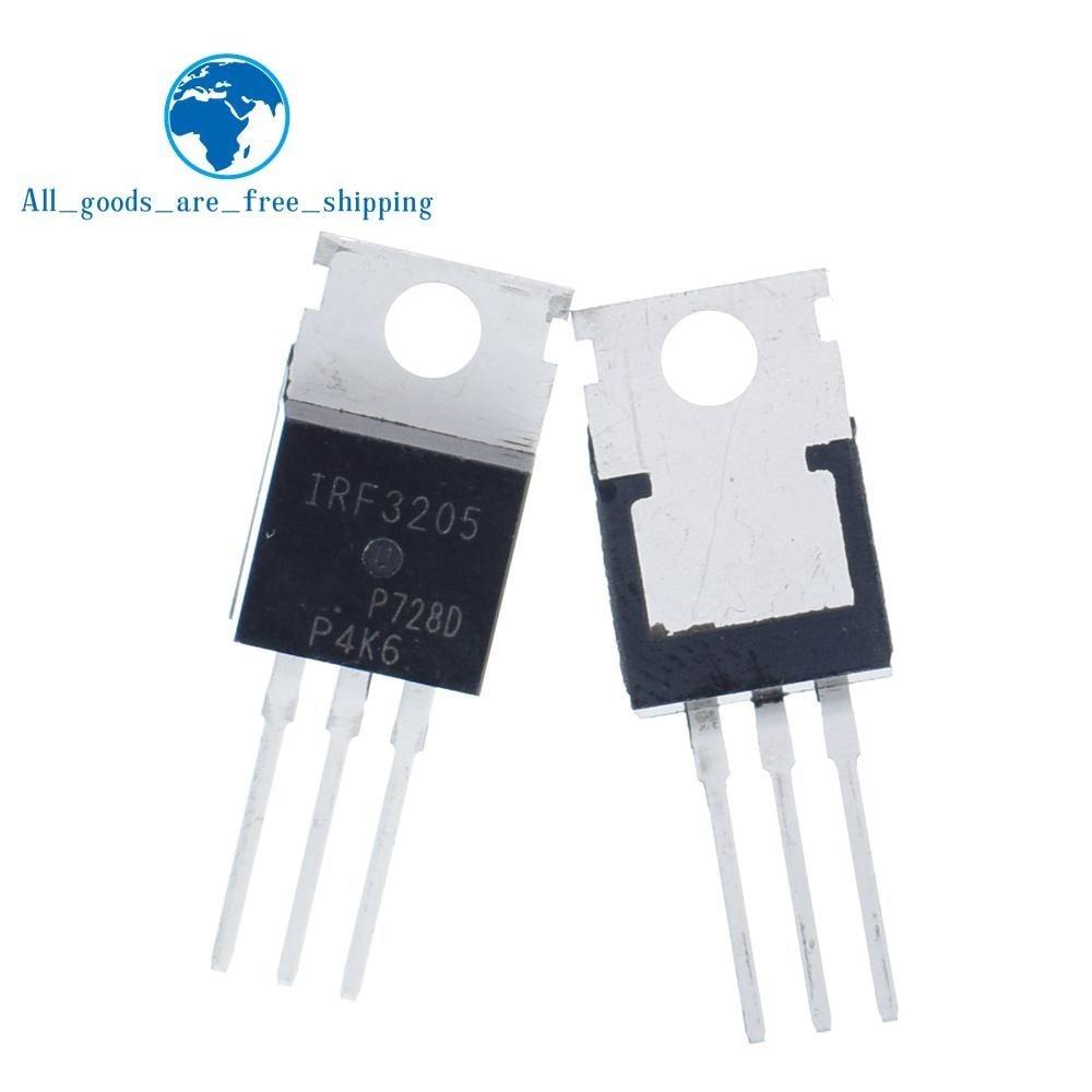 10pcs//lot IRFZ44N IRFZ44 IRFZ44NPBF MOSFET MOSFT 55V 41A 17.5mOhm 42nC TO-220