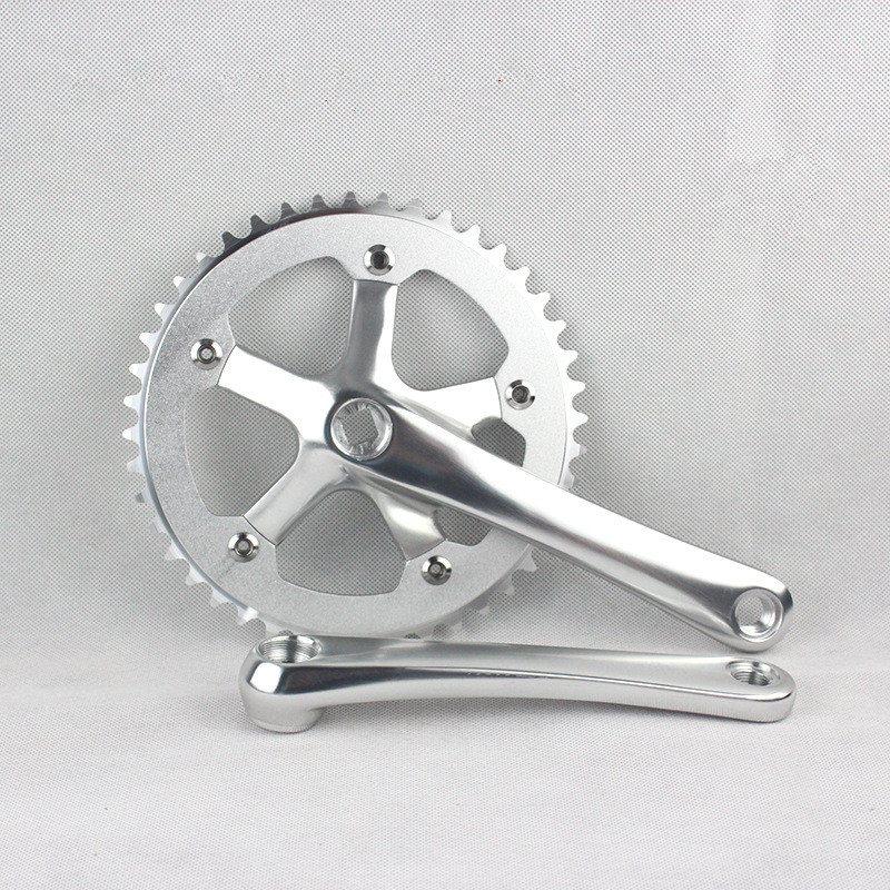 "130 BCD Track Fixie single speed 1//8/"" SILVER MOJO Fixed Gear Chainring 53T"