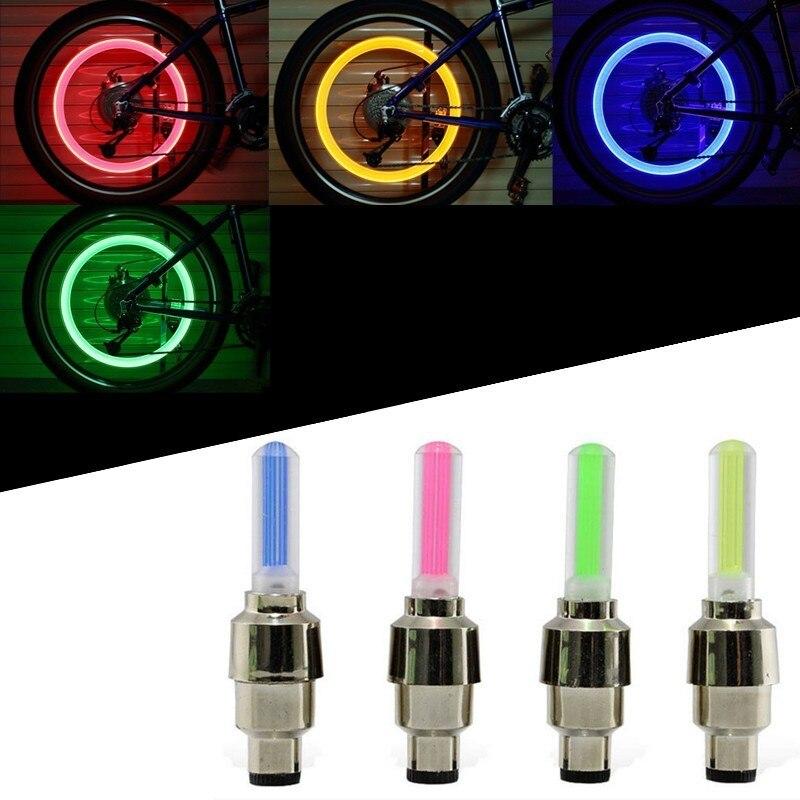 Led Tyre Type About 2pcs Lamp Light Stick Details Flash Hot Valve Wheels 6cm Wheel 0OPnwk8