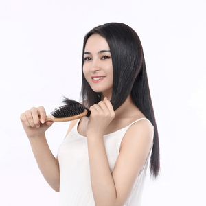 Image 4 - Bristle Brush Prevent Hair Loss Comb Mi Home Portable Care Beauty Anion Hair Care Scalp Massage Anti static Comb Tool