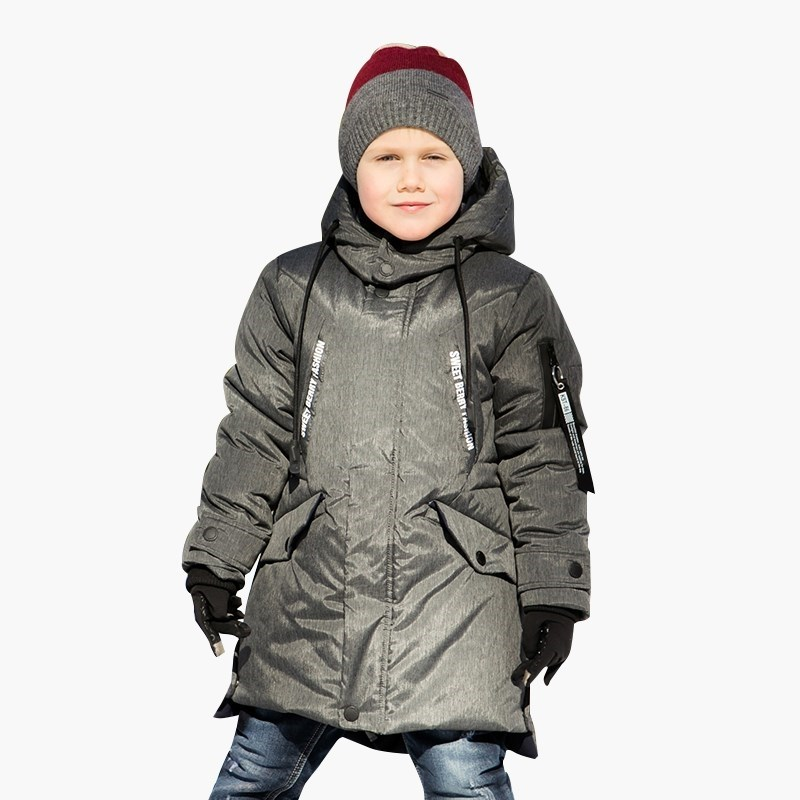Down & Parkas Sweet Berry Sewing jacket for boys children clothing kid clothes sogni kids boys down jacket 90