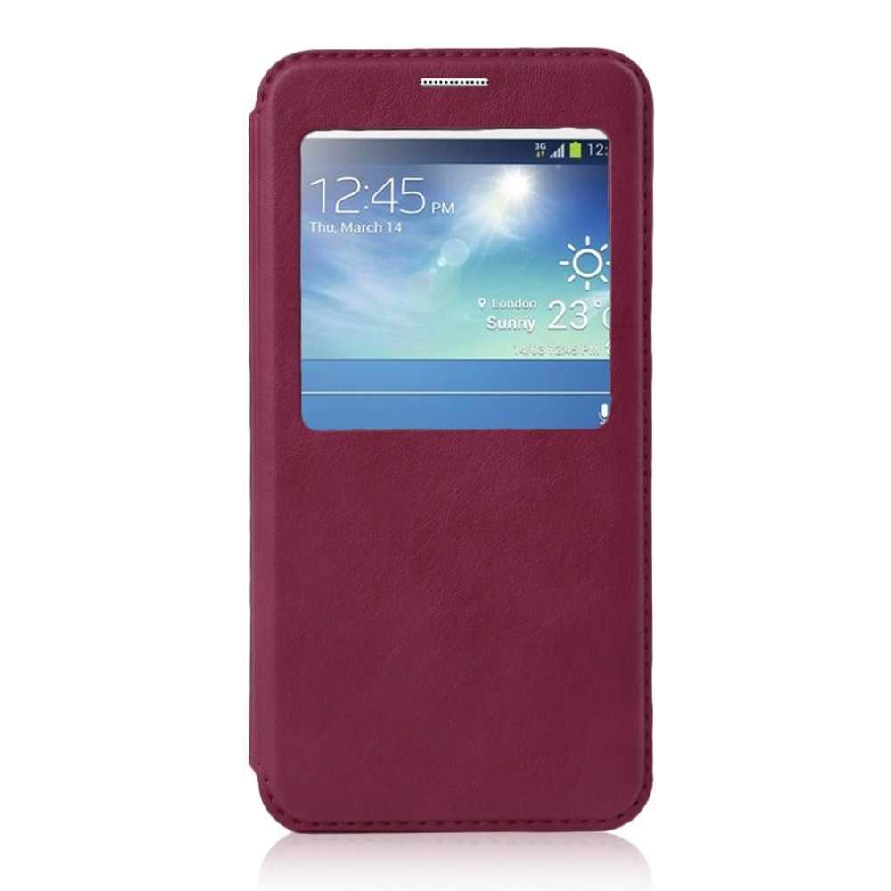 Ультратонкий флип-чехол для телефонов, однотонный защитный чехол, чехол-кошелек, подходящий для Samsung Galaxy S6 edge + Plus