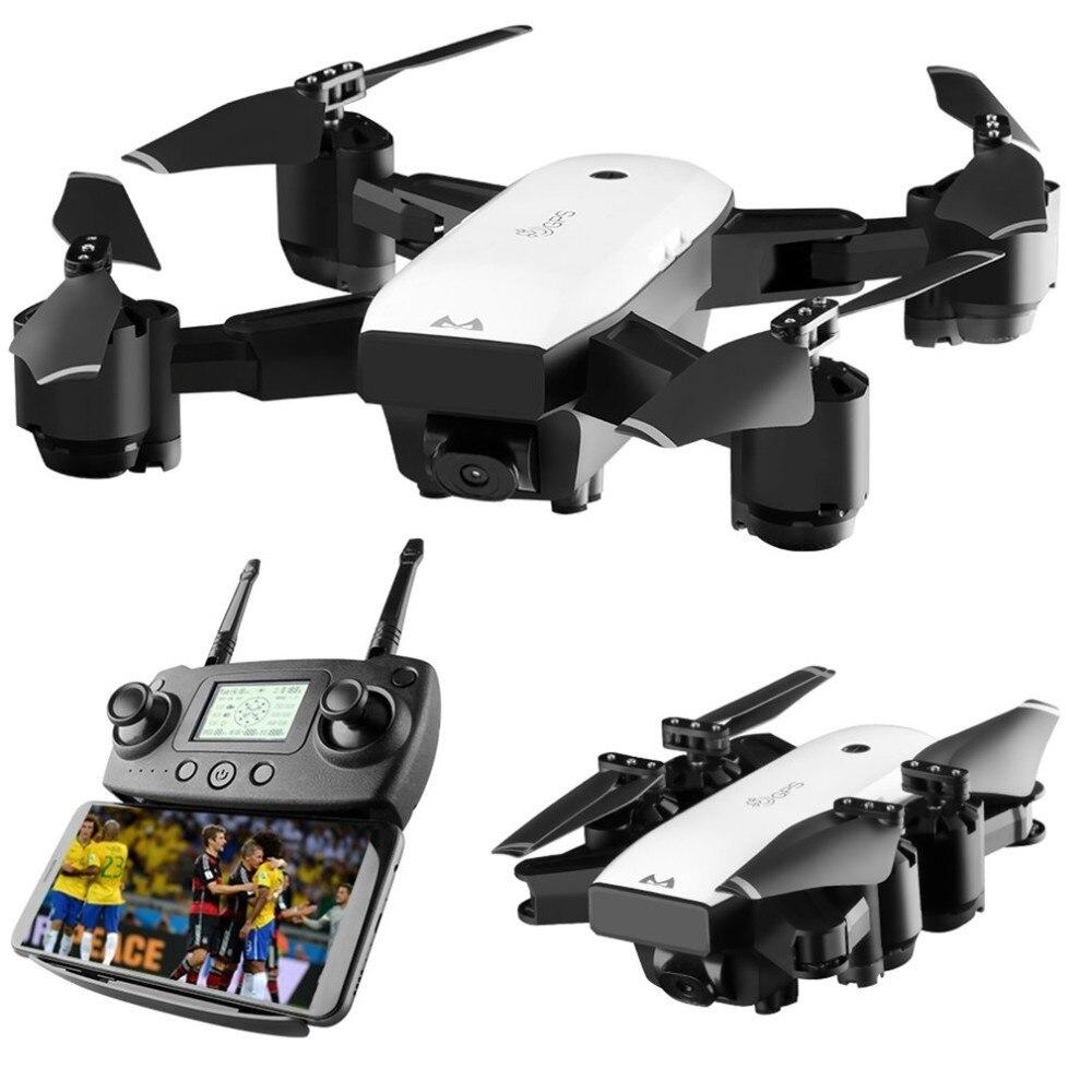 SMRC S20 Gyro Mini GPS Zangão RC Com 110 Graus De Largura Camera Angle 6 Eixos 2.4g Hold Altitude RC modelo RC Quadcopter Portátil ABS