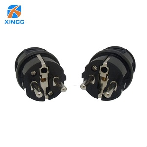 Image 4 - EU Waterproof IP54 Industrial Electrical Power French Type E Rewireable Plug Male Socket Outlet Adaptor 250V 4000W