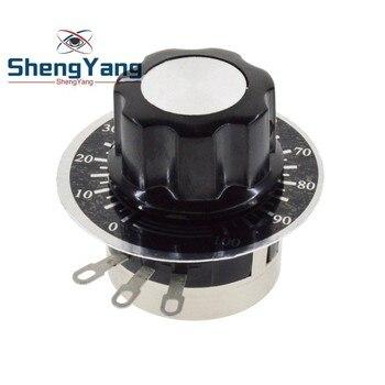 ShengYang WTH118 DIY Kit Запчасти 2W 1A потенциометр 1K 2,2 K 4,7 K 10K 22K 47K 100K 470K 1M