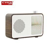 CHYI Bluetooth Speaker Portable Wireless Super Bass Dual Speakers Soundbar with Mic TF FM Radio USB Sound Box