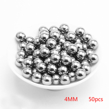 50Pcs 200Pcs Dia 2mm 3mm 4mm 5mm 6mm Stainless Steel Balls outdoor Hunting Shooting Slingshot Pinball