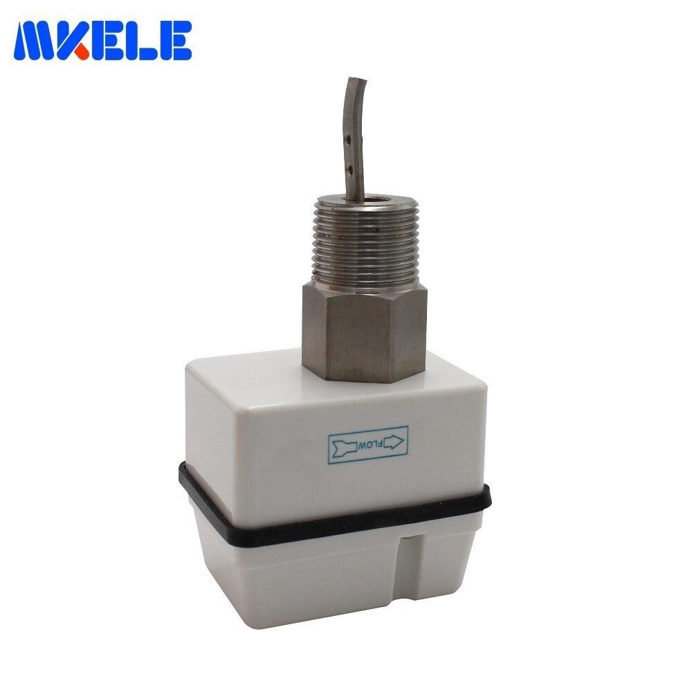 Waterproof Dustproof Flow Control Water Flow Sensor 220VAC MK FS02 MaleThread SPDT Industrial Water Pump Flow