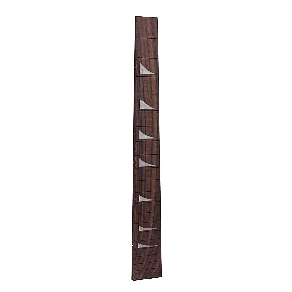 To Have Both The Quality Of Tenacity And Hardness Rosewood Geometric Pattern Ukulele 20 Fret Fretboard Fingerboard For Ukulele Soprano Ukulele Hawaii Guitar Accessory gsd114