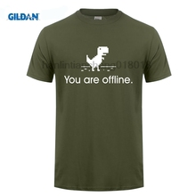 GILDAN  Google 404 You Are Offline Mens Regular T-shirt Womens Fashion Casual T shirts Tee Geeks Gifts Big Size