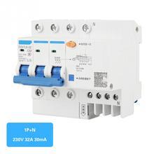 цена на DZ47LE-32 3P+N C32 RCCB Residual Current Circuit Breaker 230V 32A 30mA Current Circuit Breaker Brand New