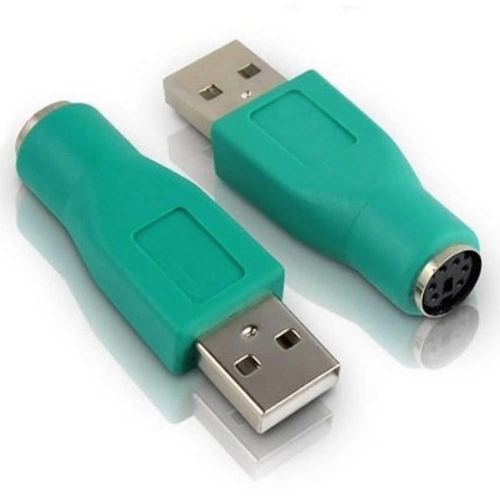 1 PCS USB Nữ để Nam Adapter Chuyển Đổi cho PS2 Máy Tính PC Máy Tính Bàn Phím Chuột