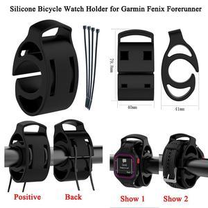 Image 3 - ساعات سيليكون جبل نوع دراجة حامل ساعات دراجة المقود للغارمين نهج S1 S3 فينيكس سلف ساعة بـ GPS جديد