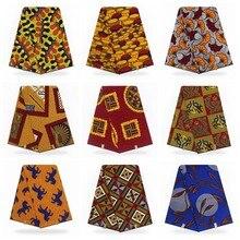 Нигерийский Африканский воск печати ткань настоящий голландский воск 6 ярдов настоящий горячий воск настоящий хлопок африканская Анкара ткань