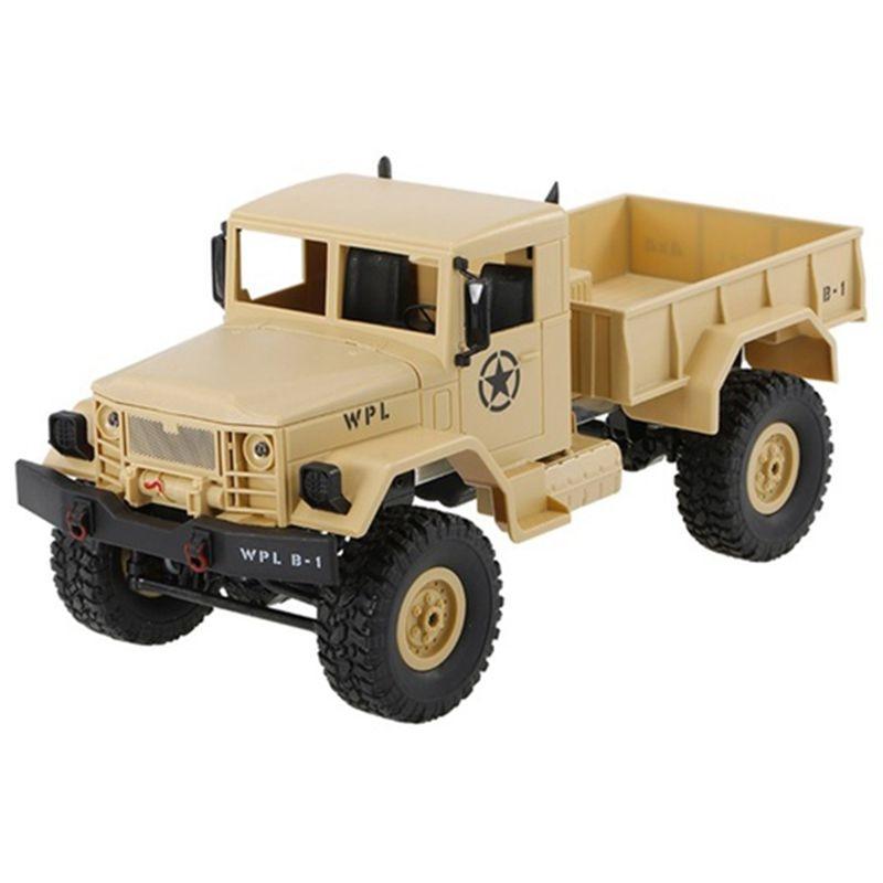 Voiture tout-terrain de chenille de roche de camion de RC de 1/16 2.4G 4WD avec deux batteries