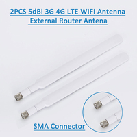 2 stks/set 4G Antenne SMA MALE voor 4G LTE Router Externe Antenne voor Huawei B593 E5186 Voor HUAWEI b315 B310 698-2700 MHz