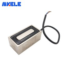 цена на MKP100/50 Rectangle Electromagnet Holding Electric Magnet Pure Copper Coil Solenoid Sucker Electromagnet DC 12V 24V