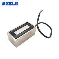 MKP100/50 Rectangle Electromagnet Holding Electric Magnet Pure Copper Coil Solenoid Sucker Electromagnet DC 12V 24V