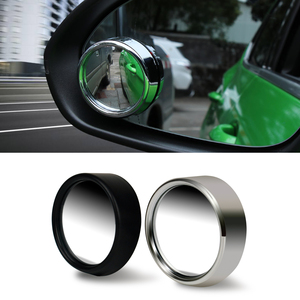 2pcs Wide Angle Side Round Convex Mirror Car Vehicle Blind Spot HD 360 Degree Rearview Mirrors Auto Park Accessories(China)