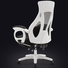 Household Computer Chair Multifunction Lift Swivel Massage Chair Lying Healthy Office Boss Chair with Footrest Mesh Seat computer office boss chair household lying executive chair super soft leisure swivel lift synthetic leather chair with footrest