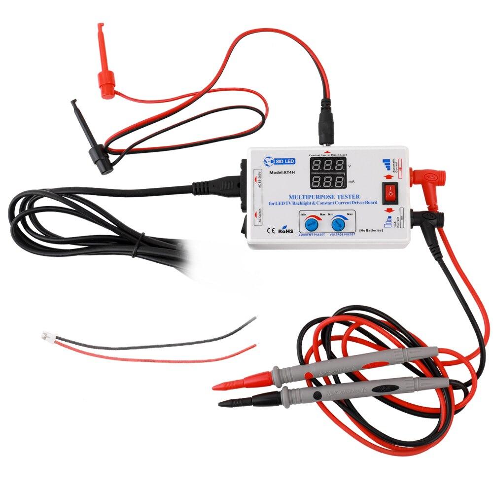 LED testeur LED TV rétro-éclairage testeur courant Constant pilote conseil testeur tension lampe perle bande entretien Test outil 0 à 330 V