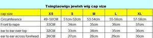 Image 3 - Tsingtaowigs Ren Mặt Trước Kosher Tóc Giả Châu Âu 100% Trinh Nữ Tóc Do Thái Tóc Giả, Kosher Tóc Giả Nhất Sheitels Miễn Phí Vận Chuyển