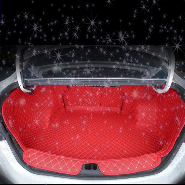Decoration Car Styling Car-styling Trunk Mat Automobile Protector Maletero Coche Cargo Liner 04 05 11 14 15 16 FOR Nissan Sunny