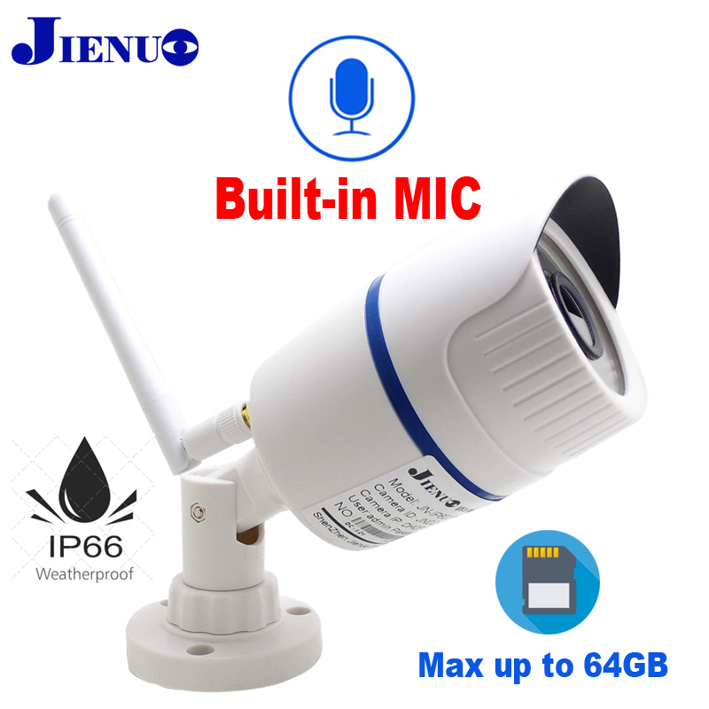 Audio Bullet waterproof Outdoor Memory card Wifi camera Home Surveillance Camera ip Wireless Security P2P ONVIF 1080P 960P 720P