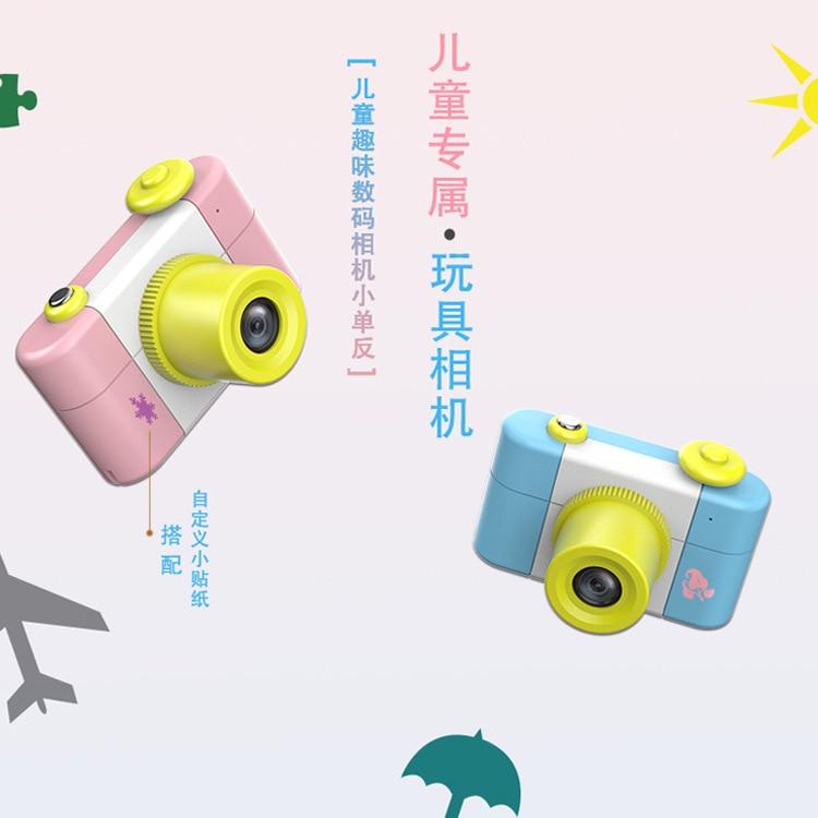Mode quatre générations de caméras pour enfants enfants bande dessinée appareils photo numériques petit appareil photo reflex pour enfants cadeaux