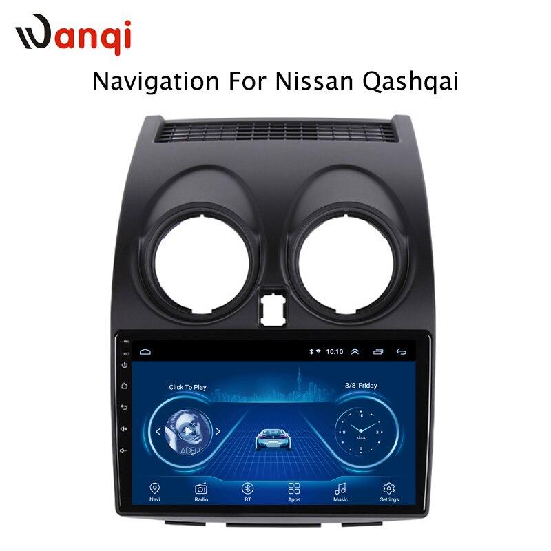 Android 8.1 Car Audio Player 9 polegada Para Nissan Qashqai 2006-2013 Navegação Do GPS Do Carro Com HD de Tela, playstore, Wi-fi