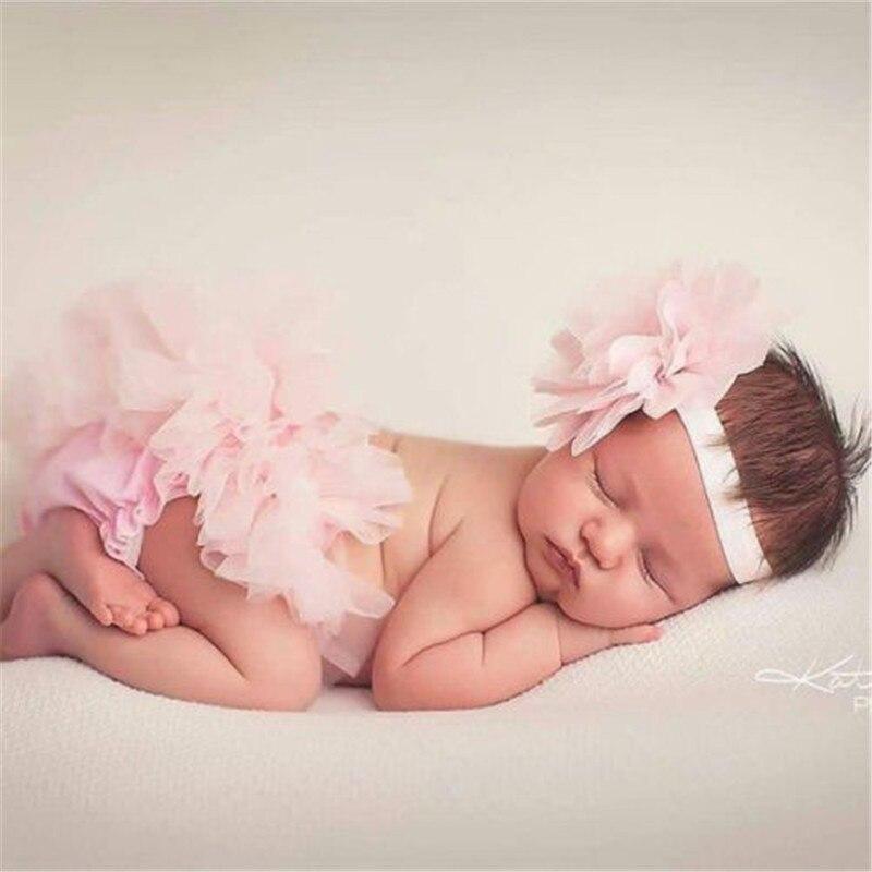 0-24 M 2 Pcs Neugeborenen Baby Mädchen Schicht Ballett Dance Pettiskirt Höschen Einfarbig Sommer Heißer Tutu Rock Kleidung Kleidung Sommerkleid In Vielen Stilen