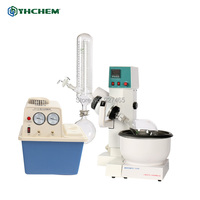 YHChem 3L Moto Lift Rotary Evaporator with Water Circulation Vacuum Pump