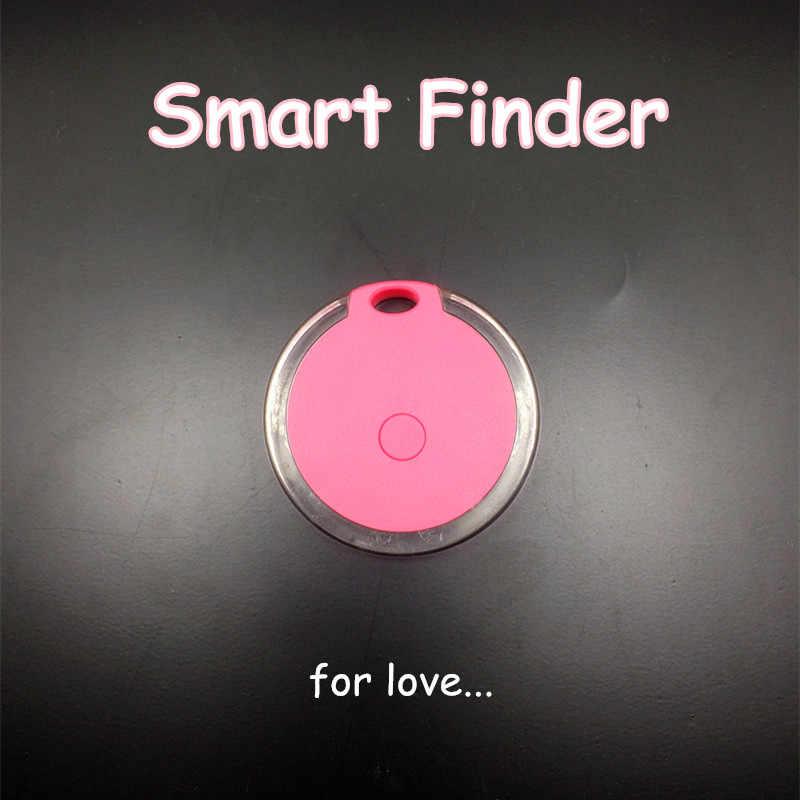Portrait bluetooth 4.0 Mini Pet Finder GPS Locator tracker สัตว์เลี้ยง Anti Lost Tracker Smart Finder Tracer สำหรับแมวสุนัขเด็ก