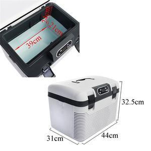 Image 2 - 19L Frigorifero Auto Freeze riscaldamento DC12 24V/AC220V Compressore Frigorifero per la Casa Auto Picnic riscaldamento Refrigerazione 5 ~ 65 gradi